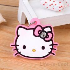 Cute Hello Kitty Key Cap Cover Key Chain
