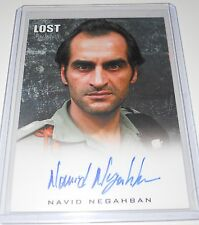 LOST Rittenhouse Archives Autograph Trading Card NAVID NEGAHBAN AS OMAR