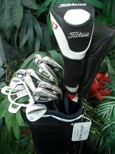 Polished Titleist Golf Set Driver Wood Irons Vokey Wedges Putter New Bag Balls