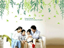 Green leaves and vines Home Decor Removable Wall Sticker/Decal / Decoration