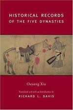 Historical Records of the Five Dynasties by Xiu Ouyang (2004, Hardcover)