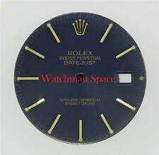 Original Men's Rolex Datejust Quickset 16013 16238 16233 Royal Blue Dial 2T #D34
