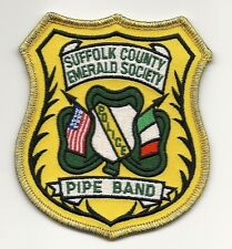 SUFFOLK COUNTY POLICE EMERALD SOCIETY PIPE BAND IRISH LI FLAG NEW YORK PATCH