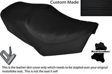 BLACK STITCH CUSTOM FITS YAMAHA SPECIAL SR 250 DUAL LEATHER SEAT COVER