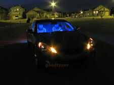 2x Bright Blue Car LED Dome Map Bulb 12SMD Interior Kit Light Panel Lamp W12#D
