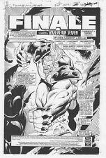 Sovereign Seven #36 p.1 - Title Splash - 1998 original art by Ron Lim