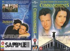 Commandments, Aidan Quinn Video Promo Sample Sleeve/Cover #10094