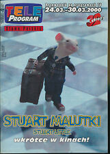 TELE PROGRAM 2000/12 (24/3/2000) STUART LITTLE MC LAINE NICOLAS CAGE DE FUNES