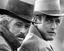 Butch Cassidy and the Sundance Kid Paul Newman Robert Redford BW 10x8 Photo