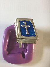 Bible Silicone Mould(holy.christening.communion.cross.cupcake.Topper.