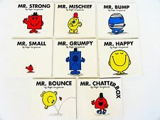 Lot 8 Mr Men kids story picture books Strong/Grumpy/Bounce/Bump Roger Hargreaves
