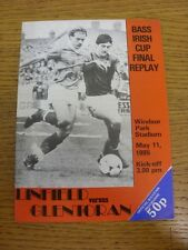 11/05/1985 Northern Ireland Cup Final Replay: Linfield v Glentoran [At Windsor P