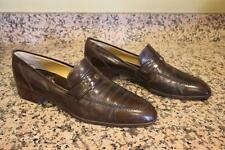 VINTAGE Gucci size 45 BROWN LEATHER LOAFER SIZE 45 US 12 (SH710