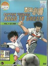 CAPTAIN TSUBASA : ROAD TO DREAM - COMPLETE TV SERIES 1-52 EPS BOX SET (ENG SUBS)