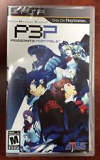 Shin Megami Tensei: Persona 3 Portable (Sony PSP, 2010) NEW FACTORY SEALED