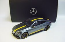 1:18 GT SPIRIT 2016 MERCEDES-BENZ AMG C63 S (C205) GREY LE 1000 NEW DEALER PROMO