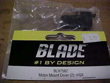 BLADE HELICOPTER PART - BLH7562 = MOTOR MOUNT COVER (2) : mQX (NEW)