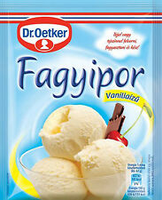 6pc Dr. Oetker Vanilla Flavoured Ice Cream Powder 70g/2.46 Oz FREE SHIPPING