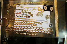 Costume Jewelery Lot mixed with Bracelets, Necklaces and Earrings  LOOK!! JSH