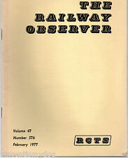 The Railway Observer magazine January 1976 vol.46 no. 563 published by RCTS