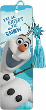 FROZEN OLAF - BOOKMARK - BRAND NEW - BOOK GIFT READING DISNEY MOVIE 6281