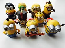 2015 MCDONALD'S CHINA HAPPY MEAL MINIONS TOYS COMPLETE SET OF 9