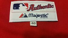 Authentic Majestic, 40 MEDIUM, CINCINNATI REDS, RED JOHNNY BENCH ON FIELD Jersey