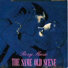 ROXY MUSIC-THE SAME OLD SCENE + MY ONLY SINGLE VINILO 1980 SPAIN