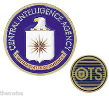 CIA CENTRAL INTELLIGENCE AGENCY OTS OFFICE OF TECHNICAL SERVICES CHALLENGE COIN