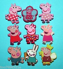 Peppa Pig Cake Toppers Cupcake Decorations Shoe Charms Favours Charms XMAS NEW