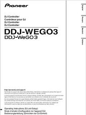Pioneer DDJ-WEGO3 DJ Controller Owners Manual
