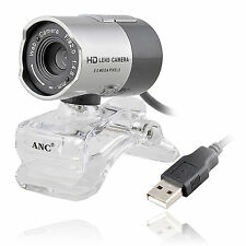 For Skype PC Night Vision 8 Mega Pixels Video Camera Webcam Web Cam With Mic
