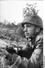 German Army Paratrooper Italy Soldier 1943 World War 2 Reprint Photo 6x4 Inch