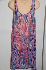 NWT Profile by  Gottex Swimsuit Cover up Tunic Size M Multi Pink