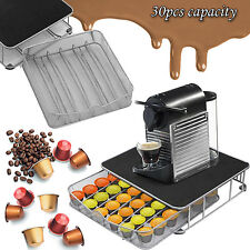 30 CAPSULE POD HOLDER COFFEE DRAWER DOLCE GUSTO MACHINE STAND KCUP STORAGE TRAY