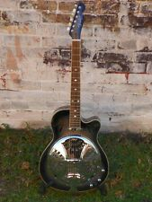 USED Fender Roosevelt CE Acoustic Electric AC/El Resonator Guitar w Case