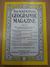 National Geographic - Montana  June 1950 Vol.XCVII. No.SIX