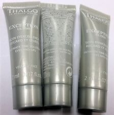 Lot of 4pcs Thalgo Ultimate Time Solution Eyes and Lips 2ml 0.07oz sample #autt