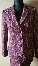 Beautiful lace effect trouser suit by gerard size 10