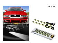 IMPORTED LED DRL DAY TIME RUNNING LIGHT - SKODA OCTAVIA OLD MODEL