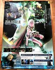 Final Fantasy XIII RARE PS3 51.5 cm x 73 Japanese Promo Poster #1