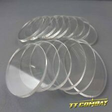 TTCombat - Oval Clear Cavalry Bases (35 x 60mm)