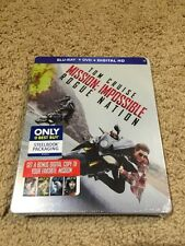 Mission: Impossible Rogue Nation (Blu Ray/DVD/digital HD  Steelbook)