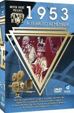 British Pathe News - A Year To Remember 1953 [DVD] BRAND NEW SEALED