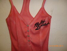 Harley Davidson Ladies' S/L Unique Wash Tank Top, Pink - XS - 96146-13VW