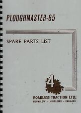 Roadless Ploughmaster 65 Illustrated Spare Parts List