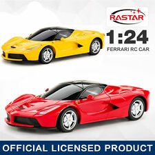LICENSED 1:24 FERRARI LAFERRARI ELECTRIC RC RADIO REMOTE CONTROL CAR KID BOY TOY