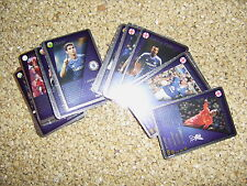 real alle 54 Silberkarten WM 2014 Fußballstars EM