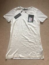 D&G Tshirt mens designer dolce & gabbana t shirt Ivory Silk cotton Small £170+