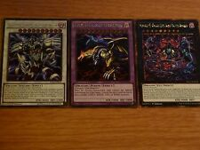 DRAGOCYTOS CORRUPTED, FIVE-HEADED, GALAXY-EYES, FOILS, Dragon Set, Yugioh Cards